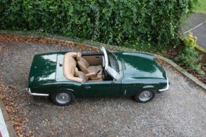 1976 TRIUMPH SPITFIRE 1500 GREEN ...A BEAUTIFUL CAR FROM HCC