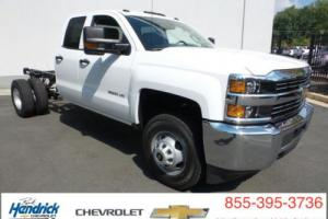 "2016 Chevrolet Silverado 3500 4WD Double Cab 158.1"" Work Truck"