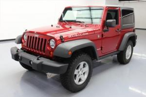 2012 Jeep Wrangler RUBICON 4X4 HARD TOP 6-SPEED