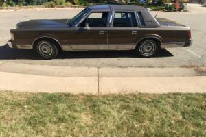 1985 Lincoln Town Car