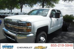 "2016 Chevrolet Silverado 3500 2WD Crew Cab 167.7"" Work Truck"