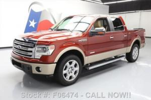 2014 Ford F-150 LARIAT CREW ECOBOOST SUNROOF NAV Photo