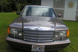 1991 Mercedes-Benz S-Class Top of the Line Luxury Model