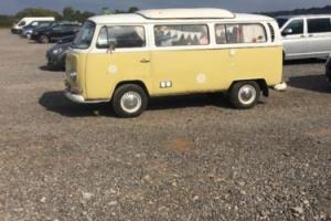 vw bay type 2 camper 1971