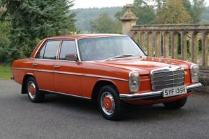 Mercedes W115/8, 1977, 200 Petrol 4 Speed Manual
