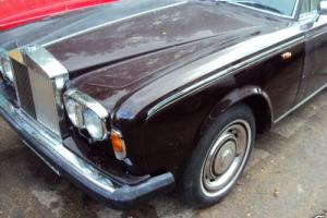 Rolls Royce Silver Shadow 11 1980 dry stored 10 years 37.000 full history Photo