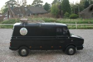 BLACK CLASSIC FREIGHT ROVER SHERPA  ideal SURF, CAMPER, WORK or PROMOTIONAL  VAN