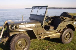 Hotchkiss, Willys Jeep . Photo