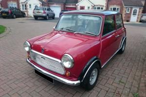 1970 Austin Mini 1275cc Red MK2 Cooper S evocation, Long MOT, Tax Free