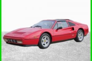 1986 Ferrari 328 1986 Ferrari 328 GTS Manual Photo