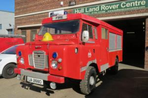 LAND ROVER SERIES FORWARD CONTROL FIRE ENGINE 1977 ONLY 17,000 MILES