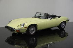 1972 Jaguar XKE OTS Photo