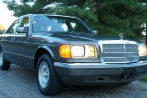 1985 Mercedes-Benz S-Class NO RESERVE 380 SE 300-Series