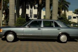 1986 Mercedes-Benz 500-Series 560SEL LUXURY SEDAN