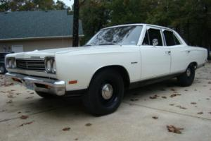 1969 Plymouth Satellite 4 door Sedan