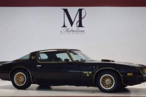 1976 Pontiac Firebird Trans Am 50th Anniversary SE