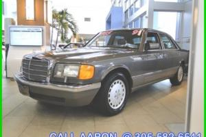 1991 Mercedes-Benz 300-Series THIS IS LIKE A TIME CAPSULE!!! WE SHIP, WE EXPORT
