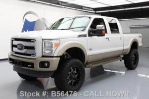 2013 Ford F-250 KING RANCH 4X4 DIESEL LIFTED NAV