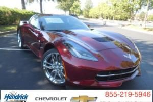 2017 Chevrolet Corvette 2dr Stingray Z51 Coupe w/3LT