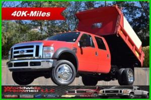 2008 Ford F-550 Chassis XLT Dump Truck