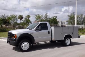 2007 Ford F-550 4X4 Service Utility Body FL Truck