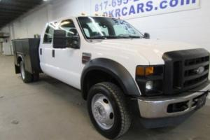 2008 Ford F-450 Utility Bed Crew Cab 4x4