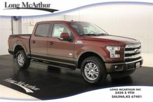 2016 Ford F-150 KING RANCH 4X4 SUPERCREW MSRP $58390