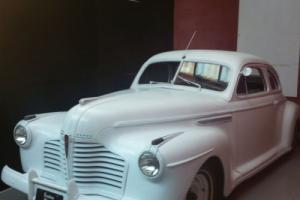 1941 Buick sedanette fastback  custom Ghostwhite