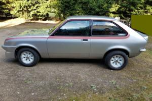 1977 VAUXHALL CHEVETTE HS SILVER 16V TWIN CAM IMMACULATE FULLY RESTORED CAR NO 1 for Sale