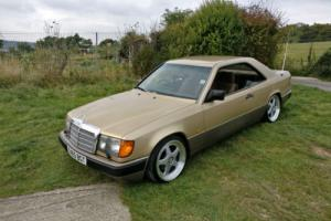 MERCEDES W124 230 CE Pillarless Coupe merc w124 coupe