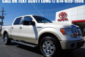 2010 Ford F-150 2010 Crew Cab Lariat 4x4 V8 1 Owner 23K Miles 4WD
