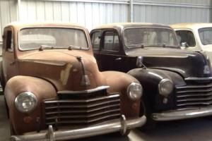 2 x 1950 Vauxhall Velox Sedans