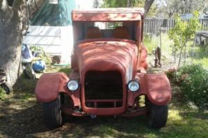 A model ford pickup rat rod/ hot rod
