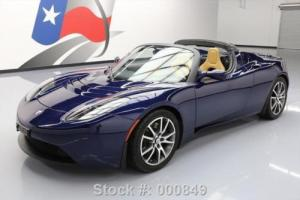 2010 Tesla Roadster CONVERTIBLE ELECTRIC NAVIGATION