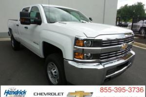 "2016 Chevrolet Silverado 2500 4WD Crew Cab 153.7"" Work Truck"