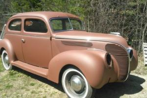 1938 Ford Tudor Deluxe flathead V-8 Tudor Deluxe