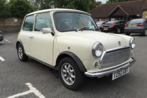 Classic Mini Mayfair Automatic 1999 Low Mileage White