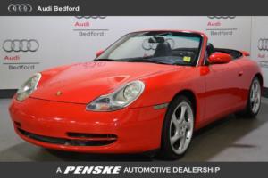 1999 Porsche 911 2dr Carrera Cabriolet 6-Speed Manual