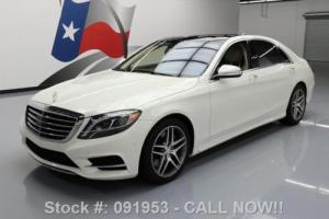2015 Mercedes-Benz S-Class S550 P1 PANO SUNROOF NAV 19'S Photo