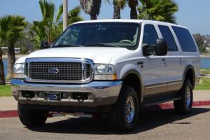 2002 Ford Excursion Limited CLEAN CARFAX INTERNATIONAL 7.3L DIESEL WOW
