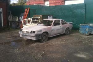 Opel manta irmscher 2.2 phase b 1988 rebuild project custom drag.racer as seen Photo