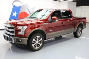 2016 Ford F-150 KING RANCH 5.0 4X4 PANO ROOF NAV