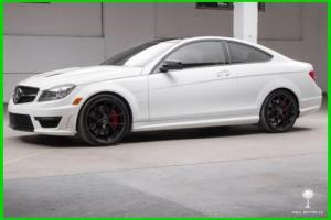 2014 Mercedes-Benz C-Class C63 AMG Edition 507