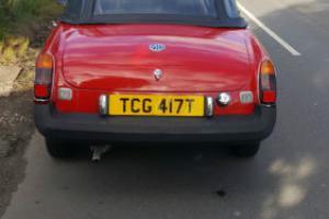 1979 MG B RED