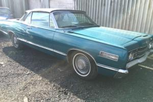 FORD MERCURY 1967 CONVERTIBLE, V8, Muscle car