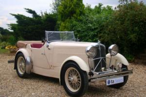 1933 Wolseley Hornet Special. Comprehensive Restoration. Original Logbook
