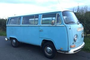 VW VOLKSWAGEN T2 EARLY BAY WINDOW MICROBUS DELUXE * 1971 RHD * CAMPER * FULL MOT