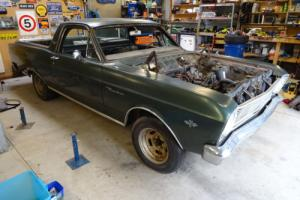 1966 Ford Ranchero ute (LHD) Project