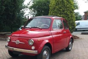 Rare Fiat 500 Ottobulloni 1965 (recent restoration)