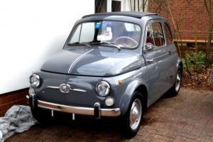 Fiat 500 D SUICIDE DOORS- NOT REGISTERED BUT HAS MOT TILL 12/2016